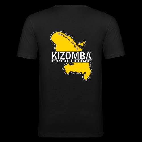 kizomba dos - T-shirt près du corps Homme