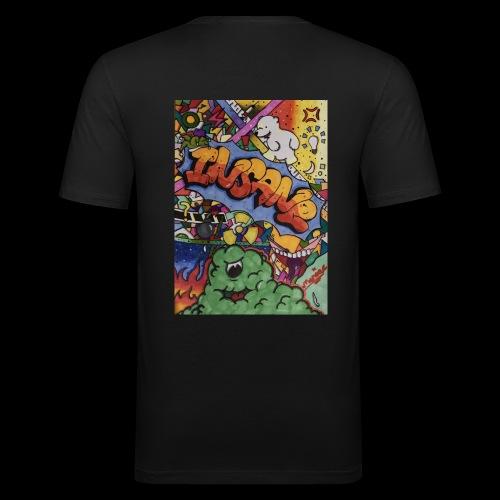 Insane - Männer Slim Fit T-Shirt
