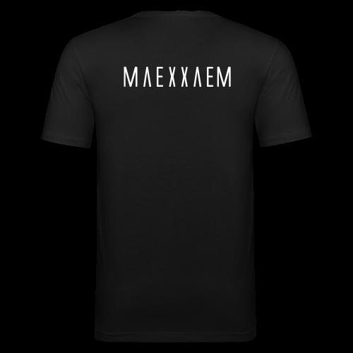 Maexxaem - Männer Slim Fit T-Shirt