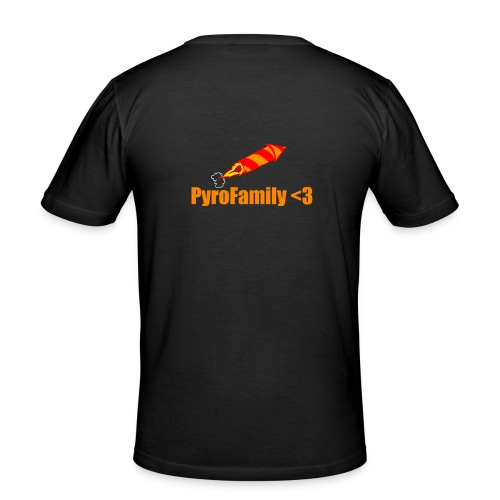 PyroFamily<3 - Männer Slim Fit T-Shirt