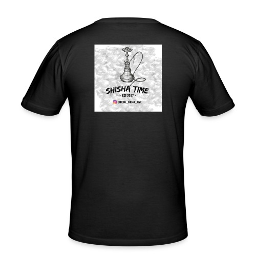 Official Shisha Time Logo - Männer Slim Fit T-Shirt