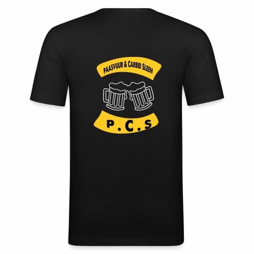 PAASVUUR EN CARBID SLEEN - slim fit T-shirt