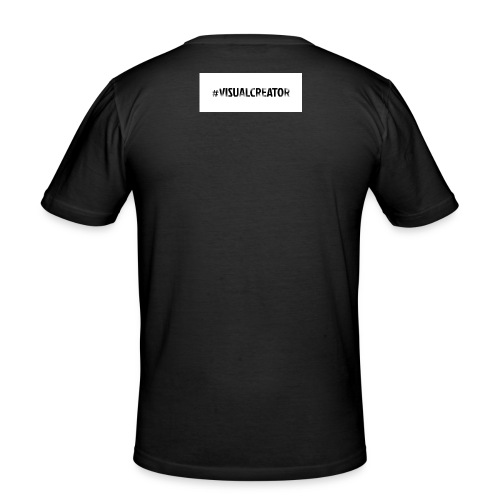 #Visualcreator - Männer Slim Fit T-Shirt