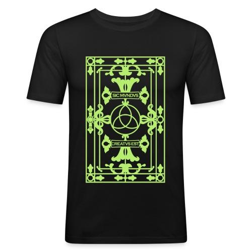 Dark - Männer Slim Fit T-Shirt