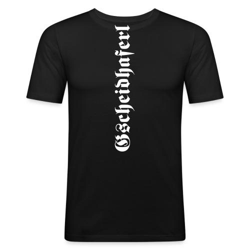 Gscheidhaferl - Männer Slim Fit T-Shirt