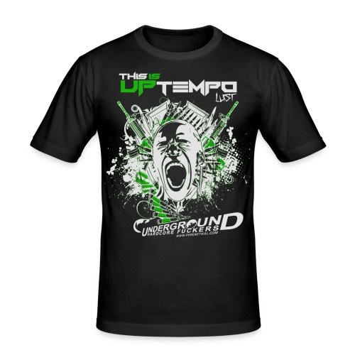 This is Uptempo - Lust - Men's Slim Fit T-Shirt