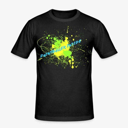 Paintballer Inside - Männer Slim Fit T-Shirt