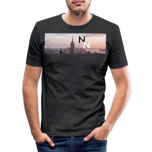 Double - Männer Slim Fit T-Shirt