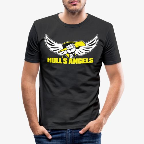 Hull's Angels Logo - Front and Center - Men's Slim Fit T-Shirt