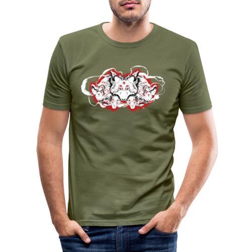 Arauc'Honaya - T-shirt près du corps Homme