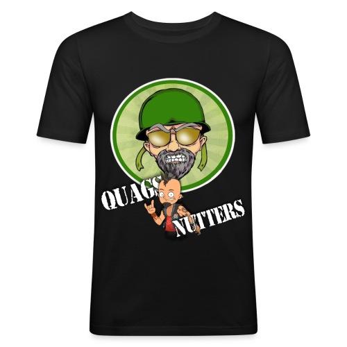 QUAGS NUTTERS! - Men's Slim Fit T-Shirt
