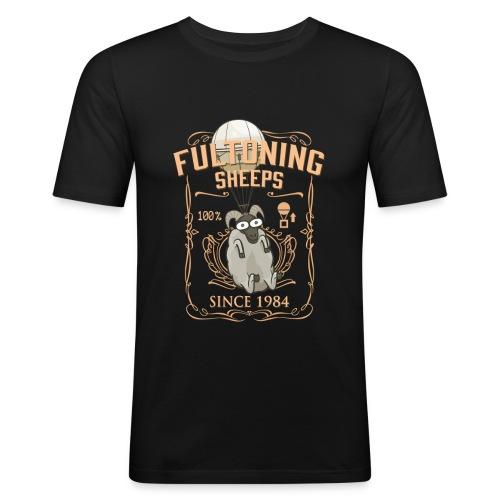 Metal Gear Solid Sheep - Männer Slim Fit T-Shirt