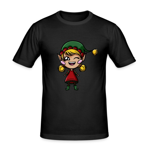 Lutin Kawaii ! - T-shirt près du corps Homme