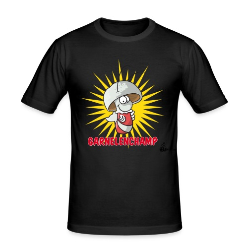 champgarnele - Männer Slim Fit T-Shirt