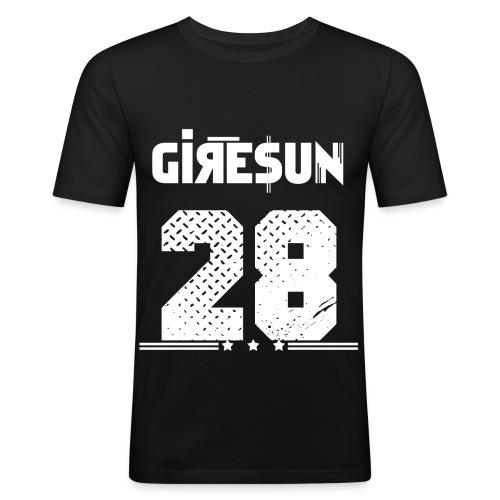 MUSTER UNTEN png - Männer Slim Fit T-Shirt