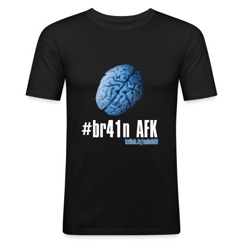 #br41nAFK - Men's Slim Fit T-Shirt
