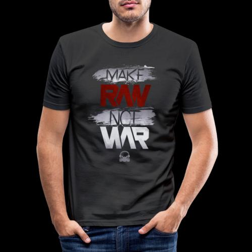 Official Rawstyle Nation - Mannen slim fit T-shirt