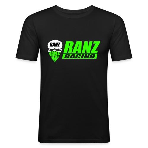 testlogogreengecuttet png - Männer Slim Fit T-Shirt