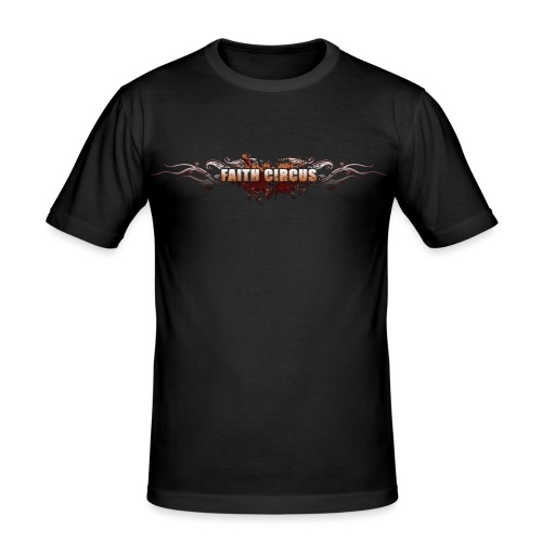 FAITH CIRCUS 2008 Logo - Men's Slim Fit T-Shirt