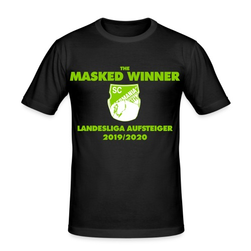 The Masked Winner Aufstieg - Männer Slim Fit T-Shirt