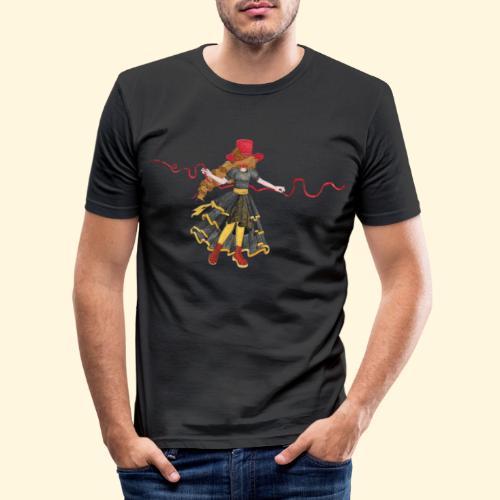 Ladybird - La célèbre uchronaute - T-shirt près du corps Homme