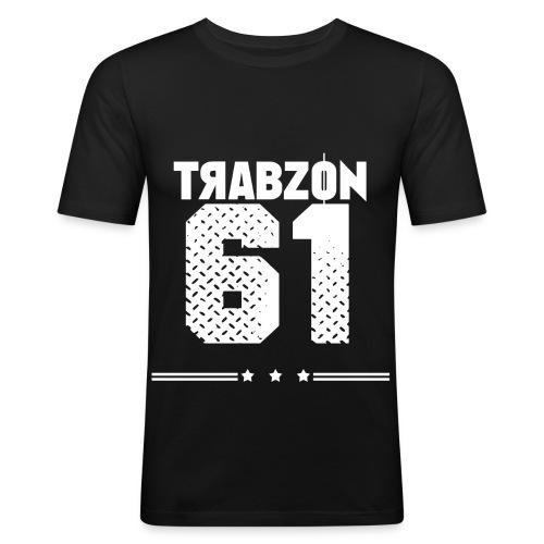 TRABZON png - Männer Slim Fit T-Shirt