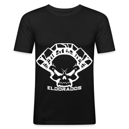 ED LOGO png - Männer Slim Fit T-Shirt