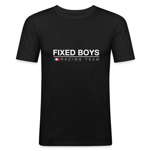 Racingteam White png - T-shirt près du corps Homme