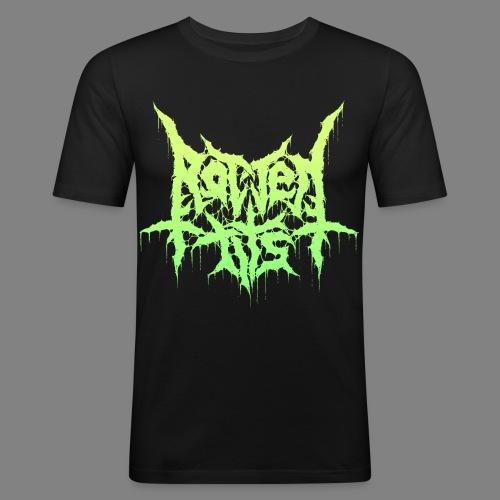 Rotten Tits dripper logo - Miesten tyköistuva t-paita