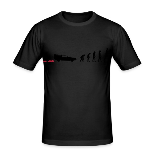 Time travel evolution - Maglietta aderente da uomo