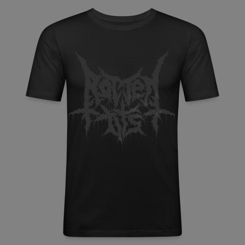 Rotten Tits dripper blck - Miesten tyköistuva t-paita