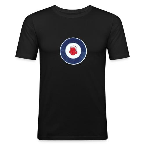 FM logo spreadshirt tshirt png - Men's Slim Fit T-Shirt