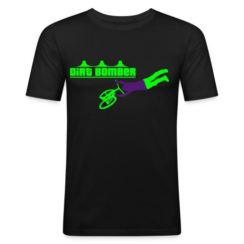 Dirtbomber Logos 0809 - Männer Slim Fit T-Shirt