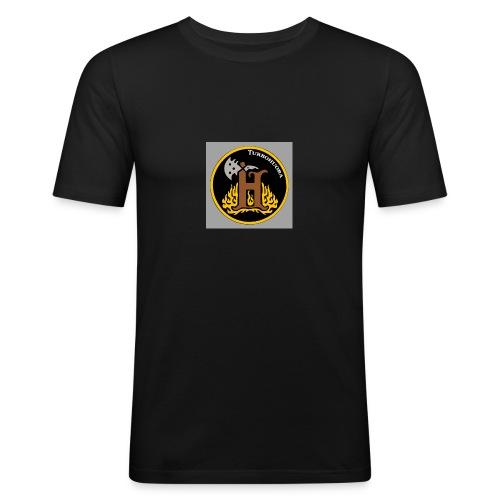 THbutton 32Srgb400 - Miesten tyköistuva t-paita