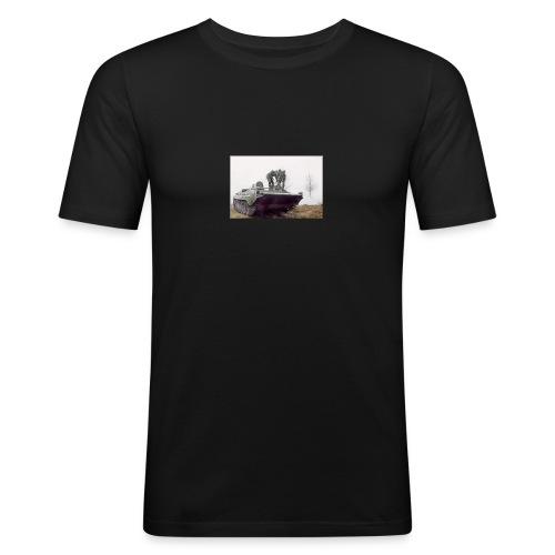 bwp2 - Obcisła koszulka męska