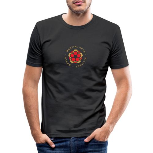 WMAA-logo_xl - Männer Slim Fit T-Shirt