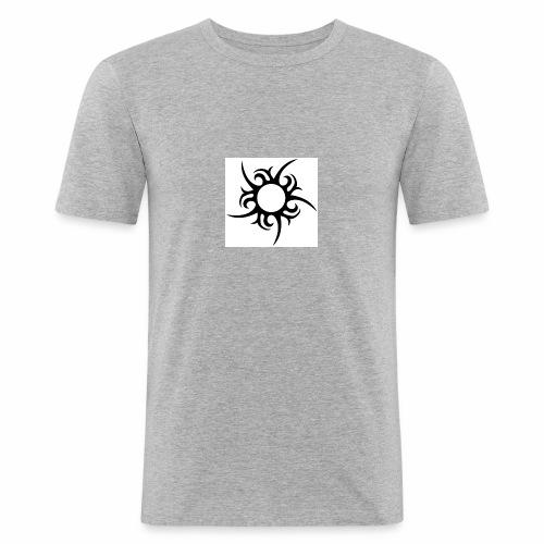 tribal sun - Men's Slim Fit T-Shirt