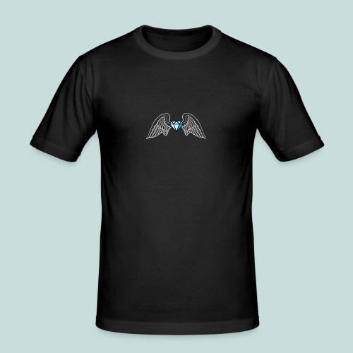 Bling angel - Men's Slim Fit T-Shirt