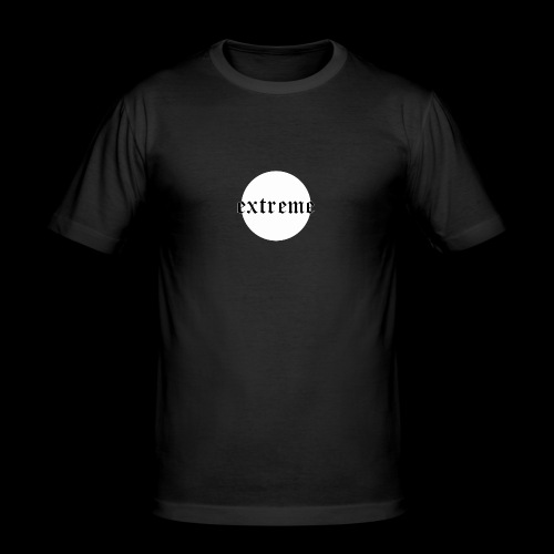 extrem white - Men's Slim Fit T-Shirt