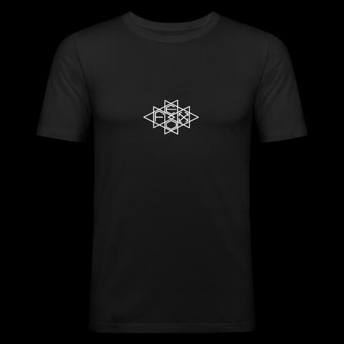 FEDOX LOGO BIANCO - Maglietta aderente da uomo