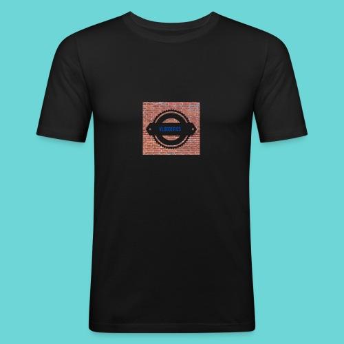 Brick t-shirt - Men's Slim Fit T-Shirt