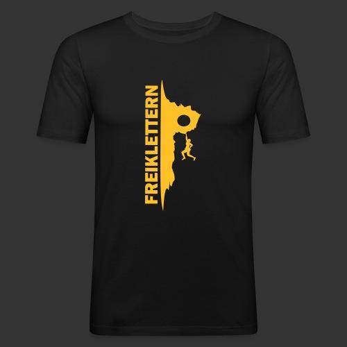 Freiklettern - Männer Slim Fit T-Shirt