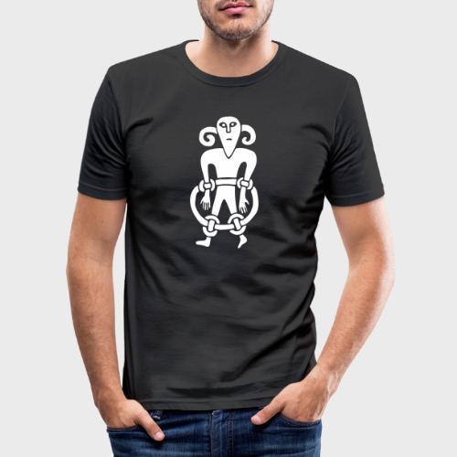 Kopfmensch - Men's Slim Fit T-Shirt