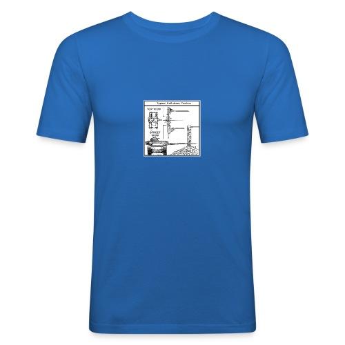 W.O.T War tactic, tank shot - Men's Slim Fit T-Shirt