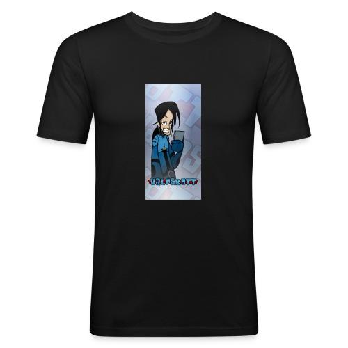 Valp Mobilskal png - Slim Fit T-shirt herr