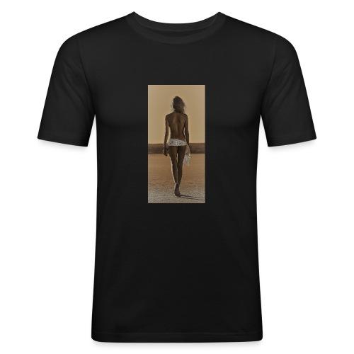 Hot Summer - Mannen slim fit T-shirt