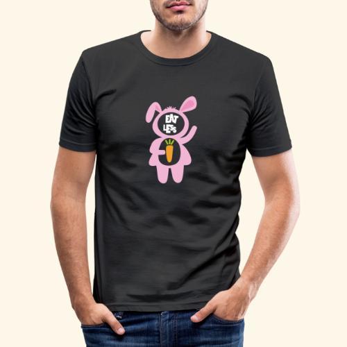 EatLess - Obcisła koszulka męska
