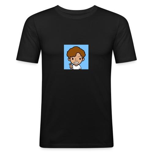 T-SHIRT Nard - Mannen slim fit T-shirt