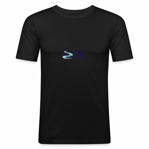 Lille logo forside - Herre Slim Fit T-Shirt