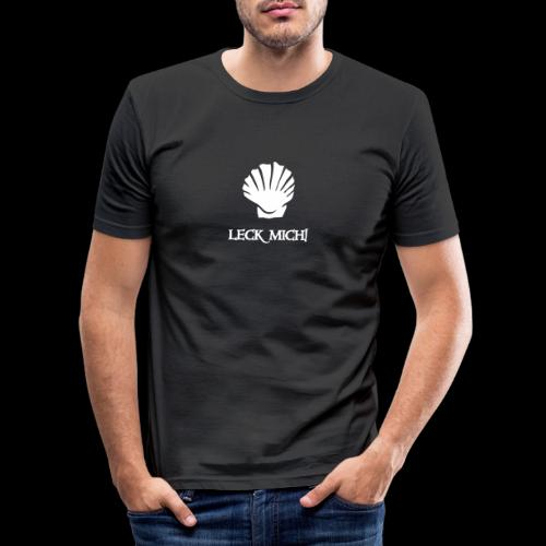 ~ Leckmuschel ~ - Männer Slim Fit T-Shirt